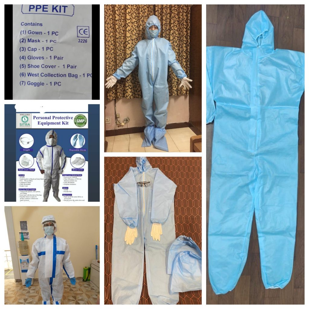 We are Leading Manufacture and Supplier of Covid-19 equipments like Sanitiser, Sanitisation Booth, PPE Kit, Gloves , Masks and others.